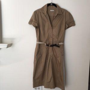 Henry Cotton's Utility Safari Dress. Size 8